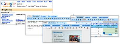 Google Blog-Suche und Google Docs